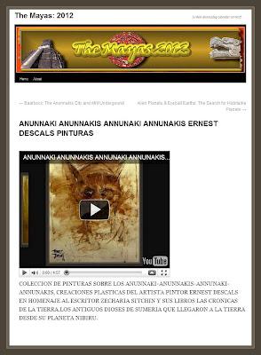 ANUNNAKI-ANUNNAKIS-ZECHARIA SITCHIN-PAINTINGS-PINTURAS-PINTOR-ERNEST DESCALS