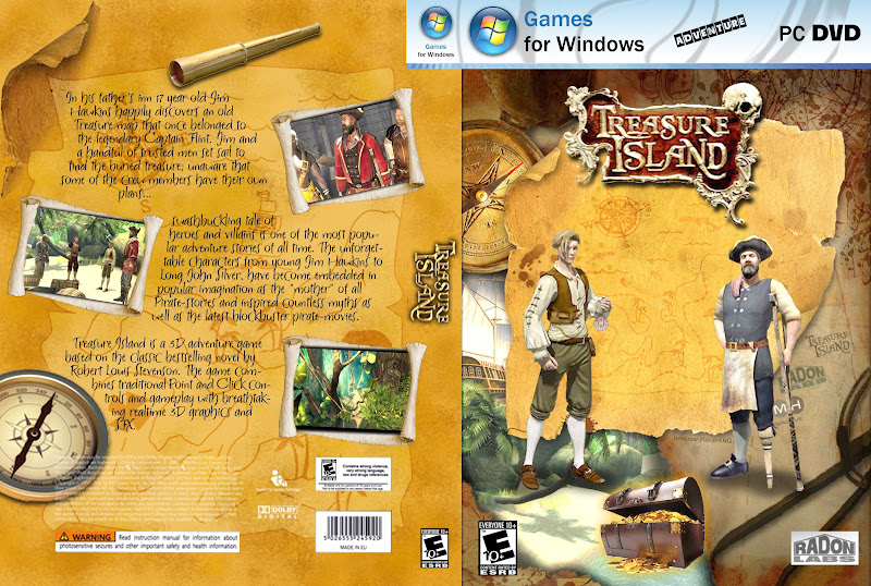 Capa Treasure Island PC