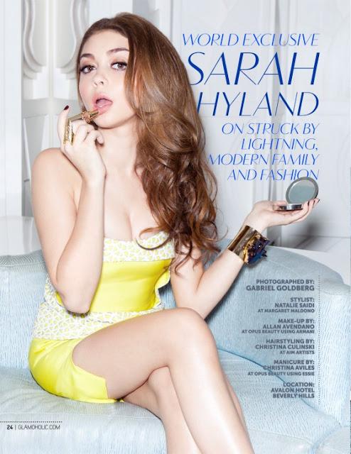 Sarah Hyland Magazine