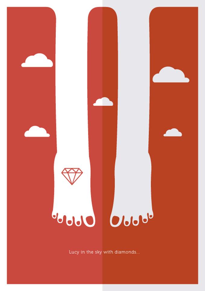 Os posters de marcos bernardes revistak7 arte que inspira - Marcos para posters ...