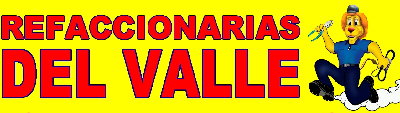 REFACCIONARIAS DEL VALLE / PATROCINADOR OFICIAL