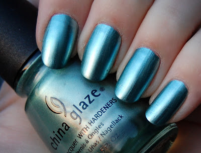 The Nailtress: NOTD: China Glaze Metallic Muse