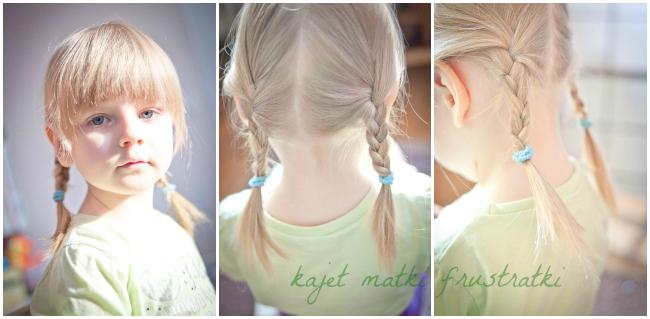 fryzura dla małej dziewczynki