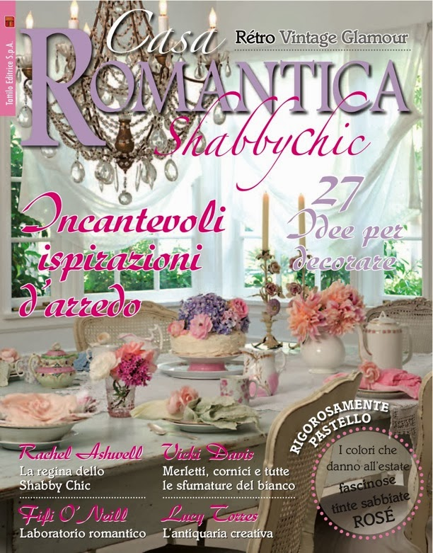 This has been a dream of mine for some time to have my home in a magazine - Casa romantica shabby chic ...