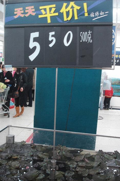 69753  468x chinese walmart 005 Mengintip Bahan Bahan Makanan Yang Dijual Di Walmart, China