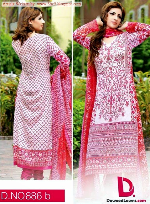Dawood Classic Lawn Collection 2014 Volume 4