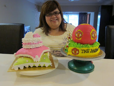 Pillow cake and football cake class