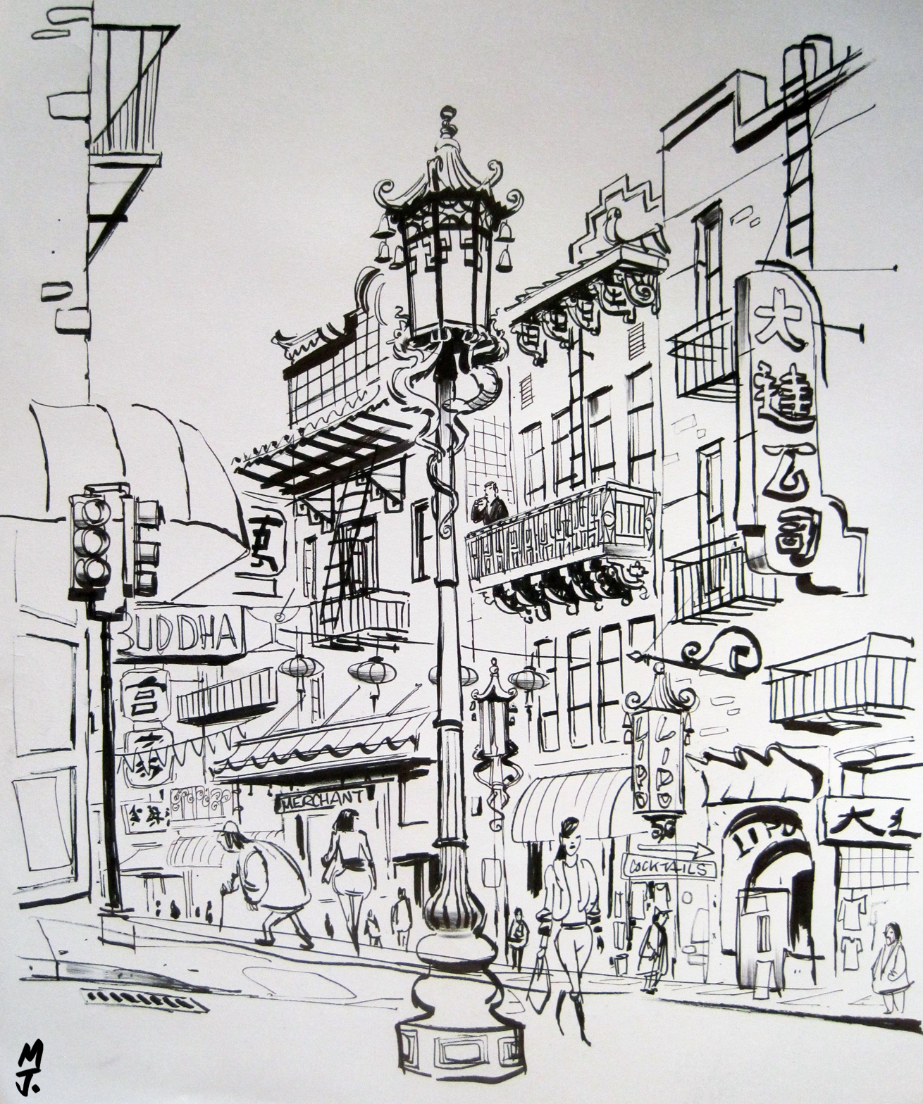 Happy New Year Urban Sketchers