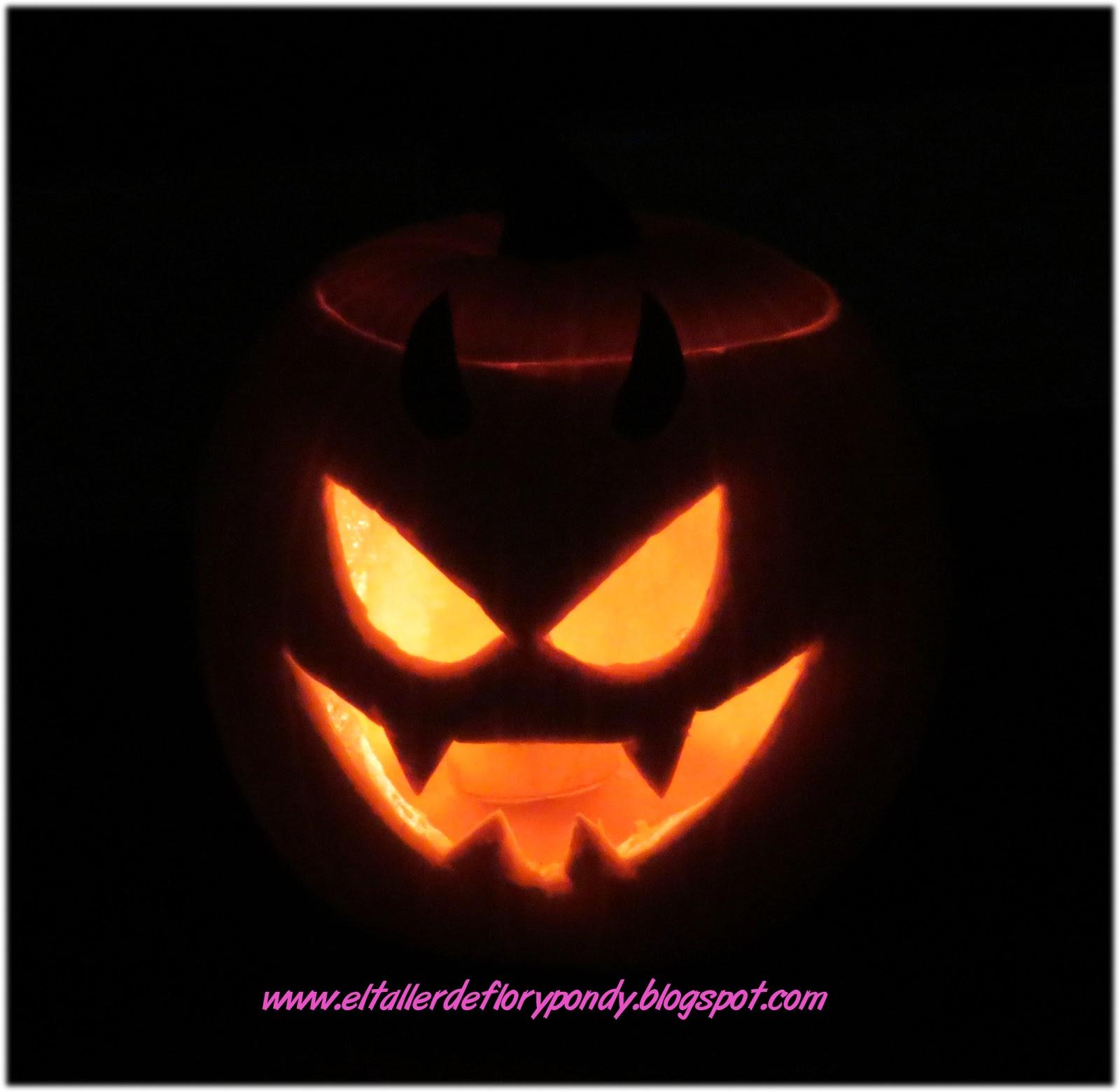 El taller de flory pondy calabaza para halloween - Halloween hipercor ...
