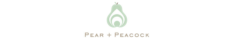 Pear and Peacock