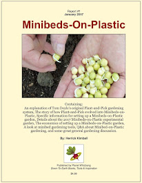 New in 2017! <br> Minibeds-on-Plastic Gardening