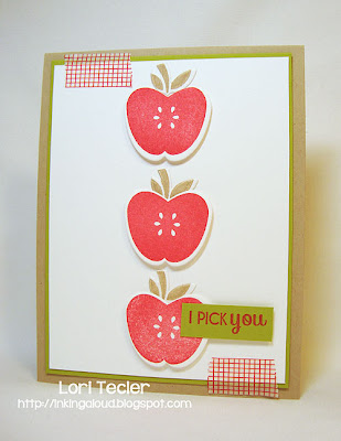 I Pick You-designed by Lori Tecler-Inking Aloud-stamps and dies from Papertrey Ink
