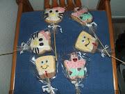 Para acompañar la tarta del cumple de mi peque y dar a los niños hice unas .