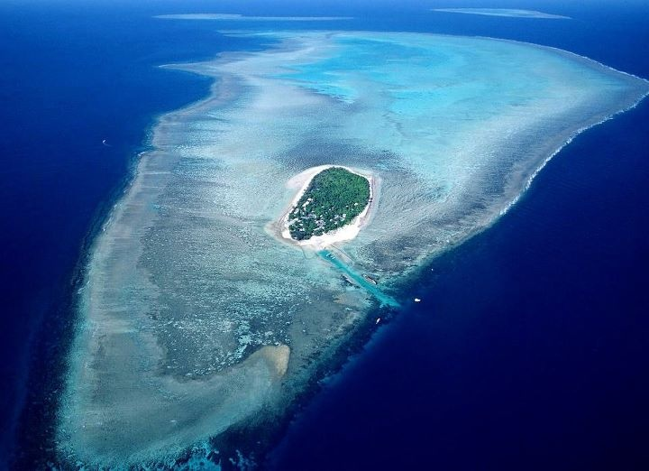 Heron Island In Queensland,Australia