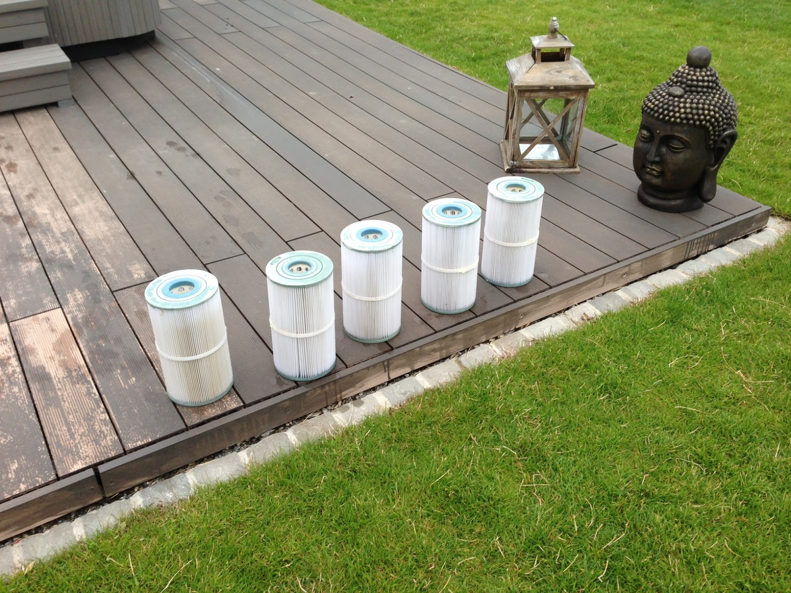 Bautagebuch zu unserem traumhaus jette joop europe - Pool filter reinigen ...