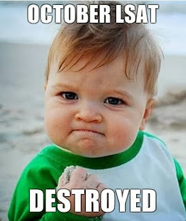 good luck to everyone taking the october 2013 lsat the october 2013