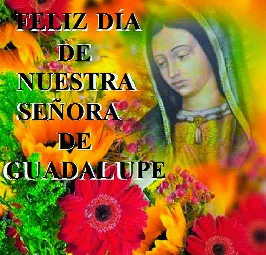 Feliz Dia Virgen De Guadalupe