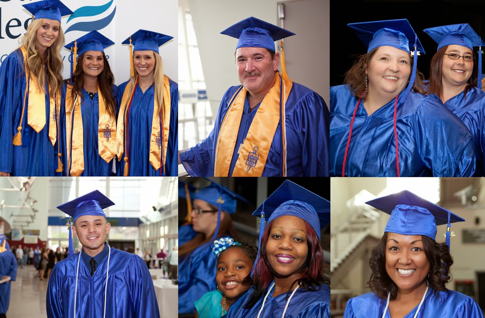 Montage of image of 2014 Rio Salado grads.