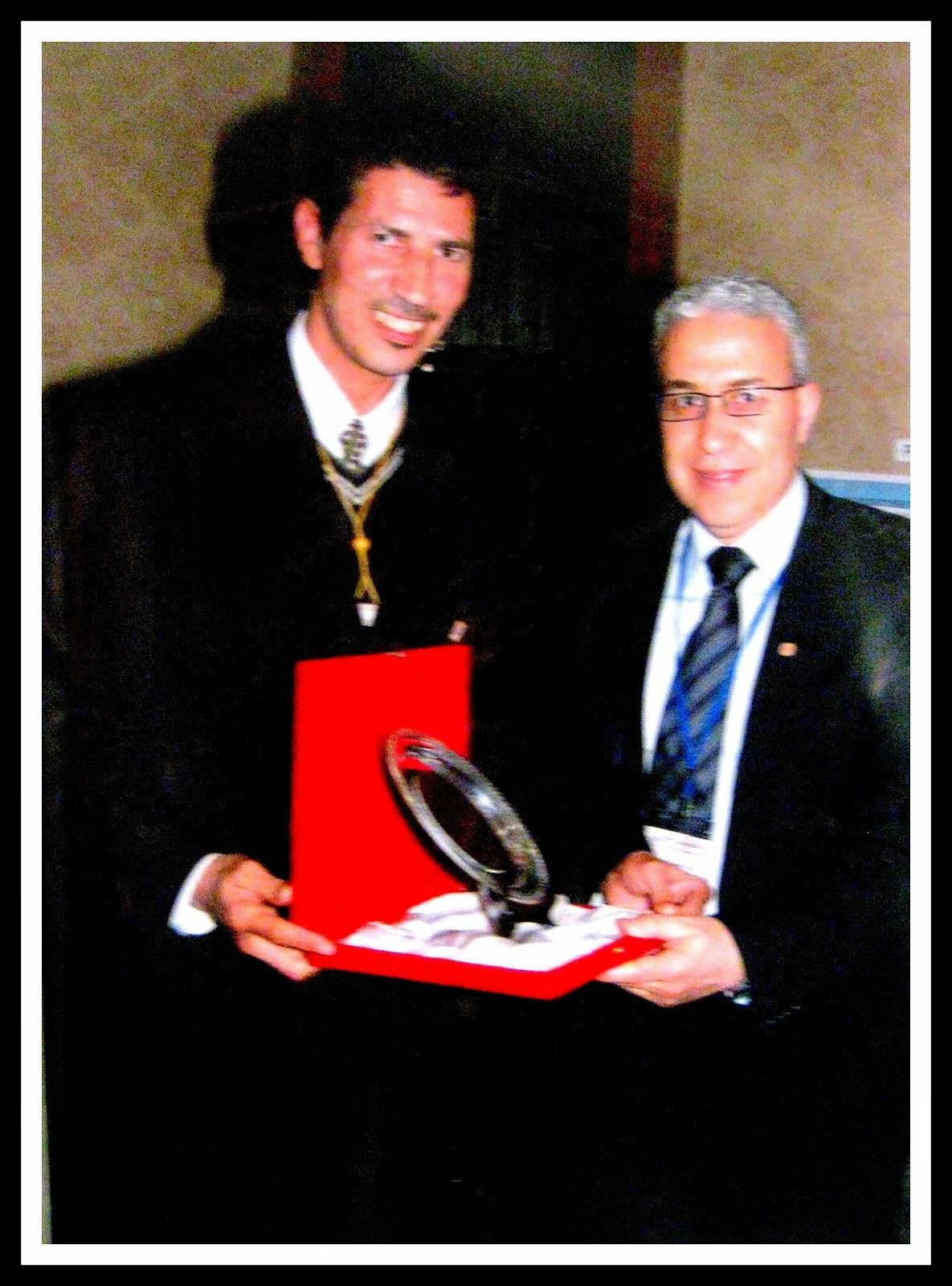PRESIDENT D ARTHROSCOPIE PR ARSSI DE CASA ET LE PRESIDENT D AMIBOTO MR ELHATIMI MED DE RABAT