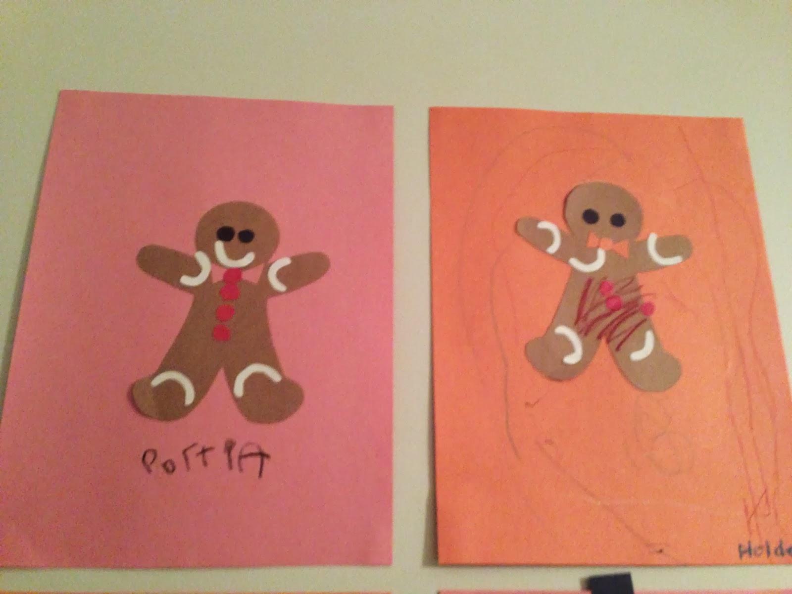 mamamanagement: kid crafts: construction paper shape art