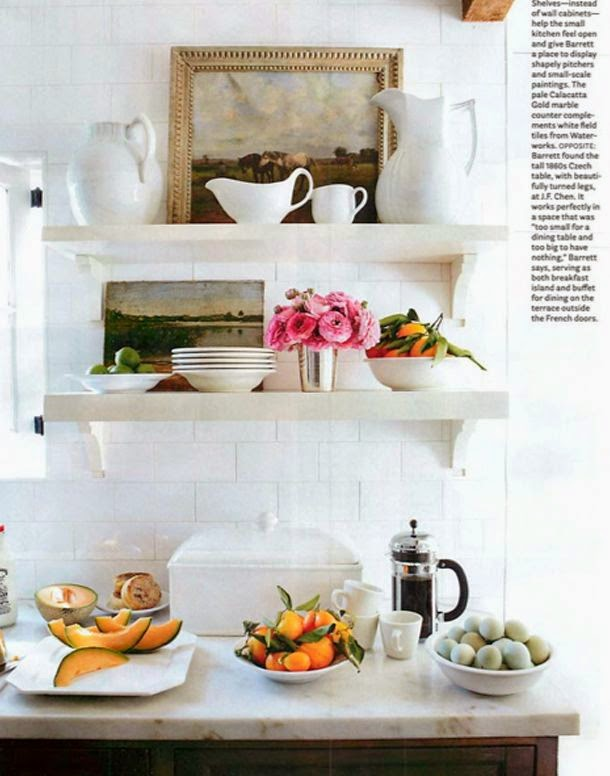 Marten Design: Trend Debate - Open Kitchen Shelving