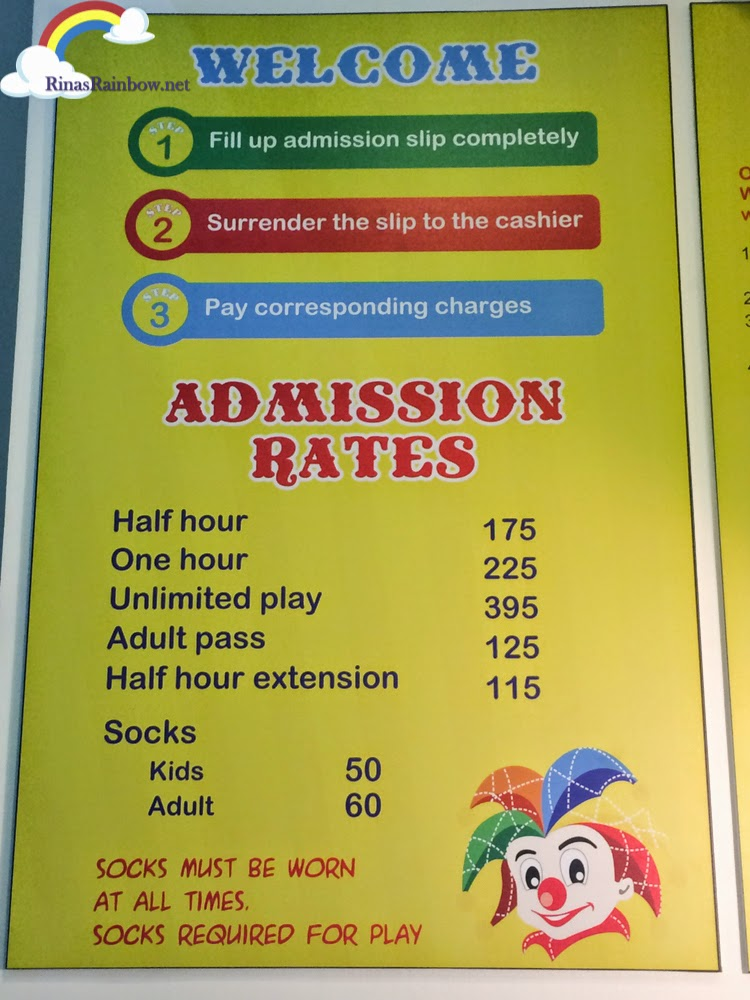 active fun megamall rates