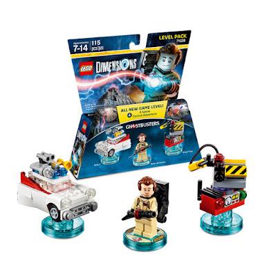 TOYS : JUGUETES - LEGO Dimensions  71228 Ghostbusters : Level Pack  Peter Venkman + Ecto-1 + Ghost Trap  Figuras - Muñecos - Videojuegos   Edad: 7-14 | Piezas: 115 | Comprar en Amazon
