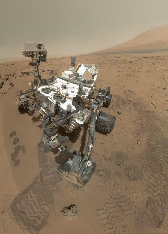 Марсоход Curiosity с процессором RAD750 (защищенный от радиации PowerPC G3)