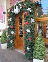 Decoración navideña en San Bernardo