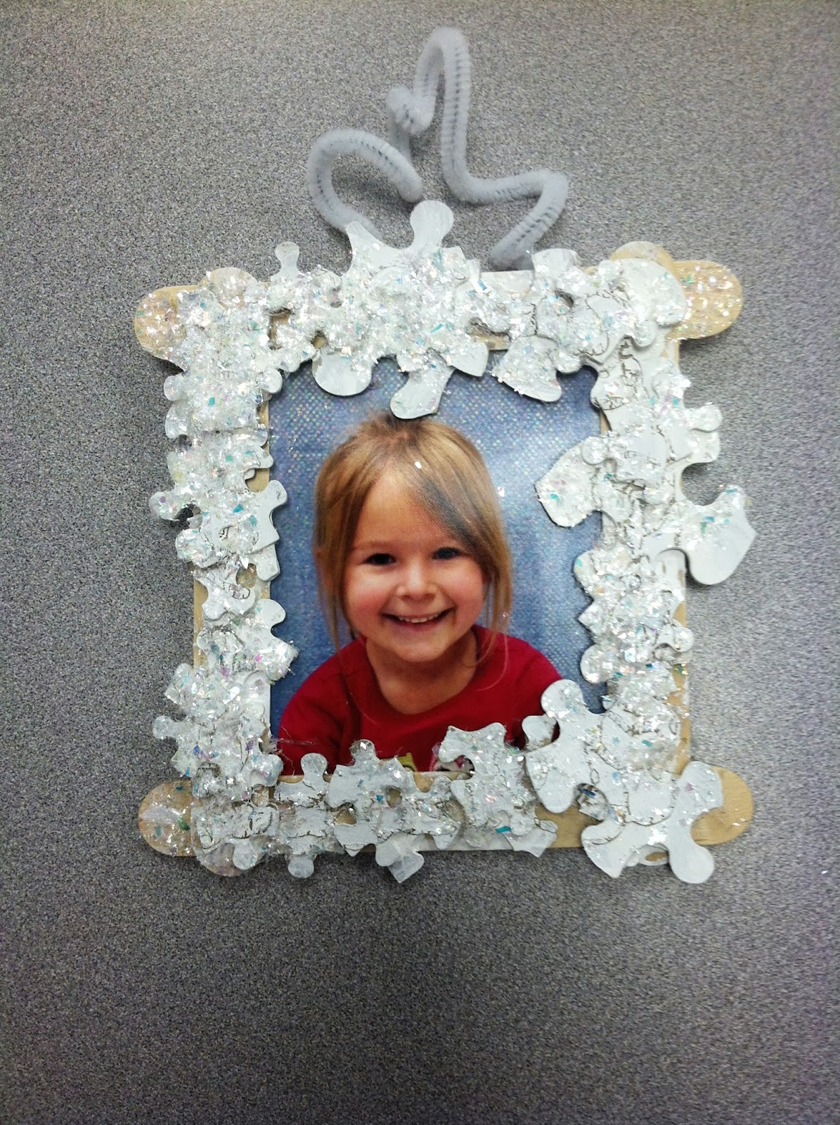 Mrs. Lowes\' Kindergarten Korner: Picture Perfect Parent Ornament Gifts