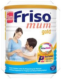 FRISO MUM GOLD-SUSU UNTUK IBU HAMIL YANG TAK MINUM SUSU