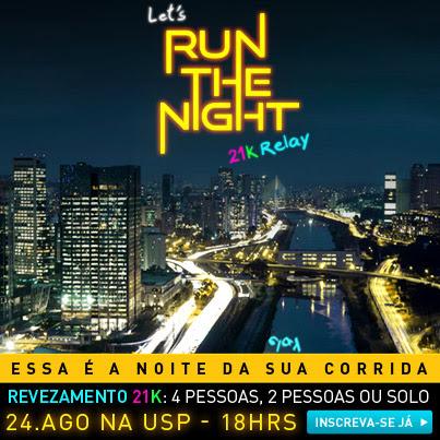 Correndo a noite!!!