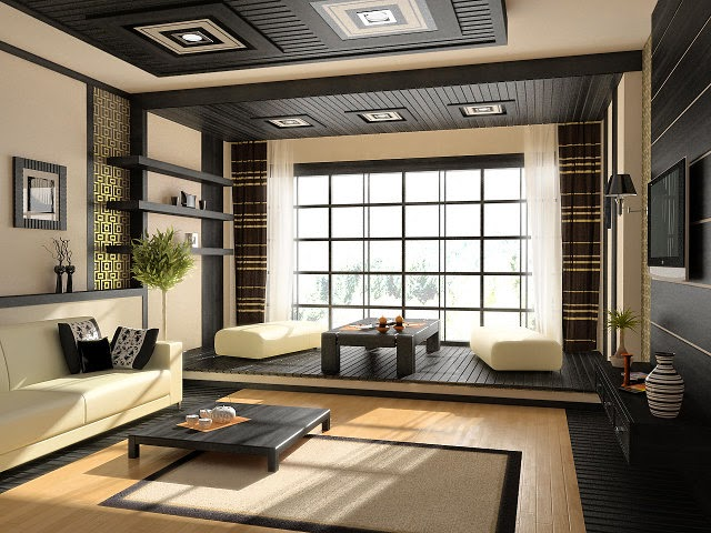 Pacifying small is beautiful: features Japanese style in interior