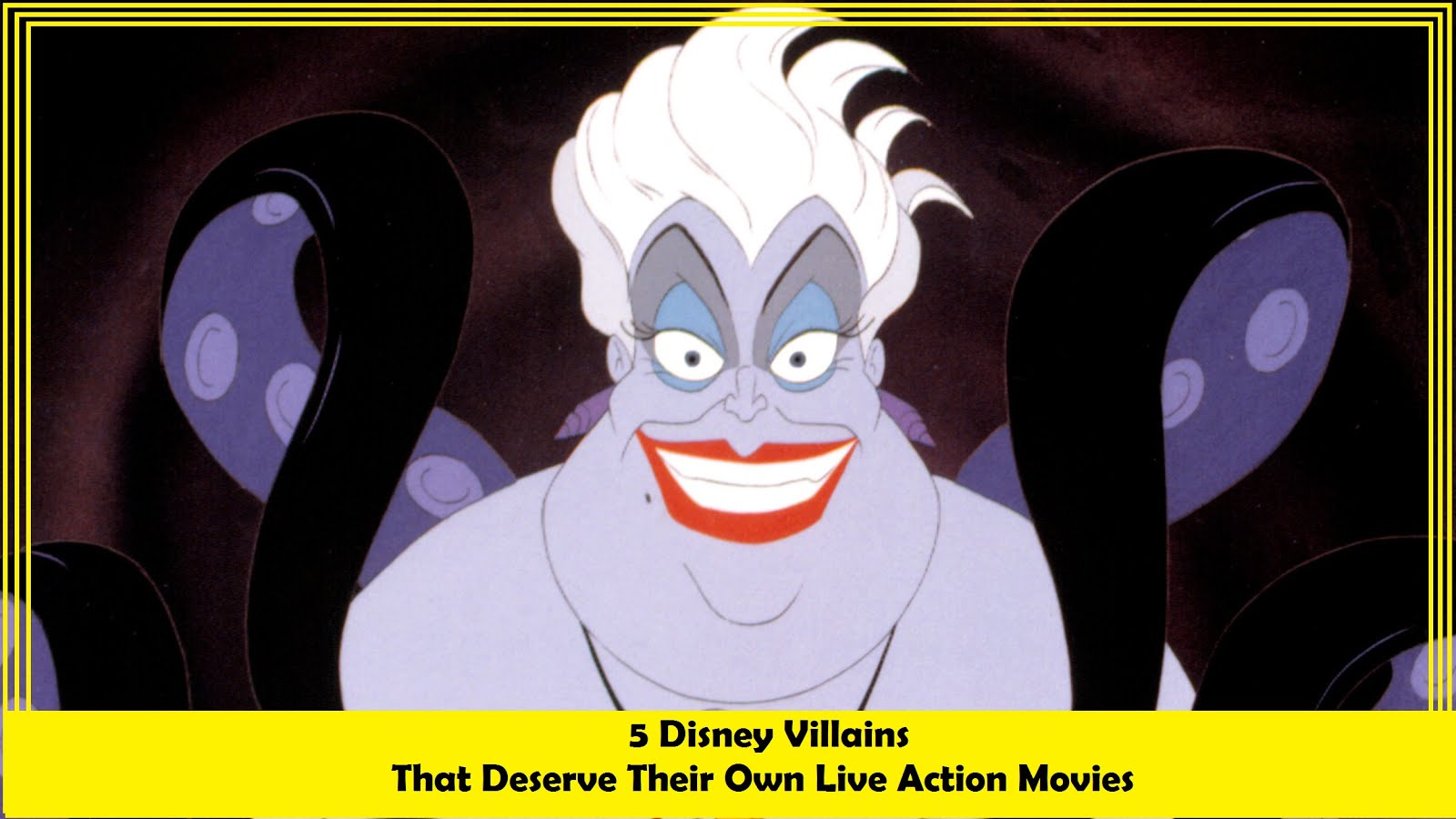 Disney Villains that Deserve Their Own Movies