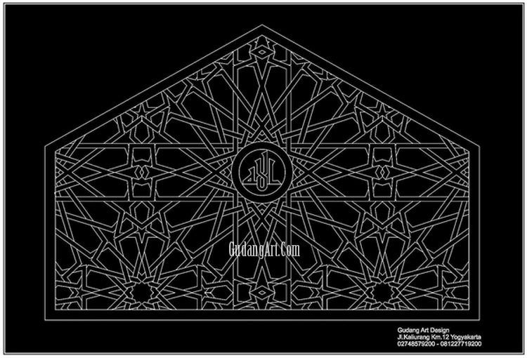 islamic windows ornament desain teralis masjid aluminium cor mosque