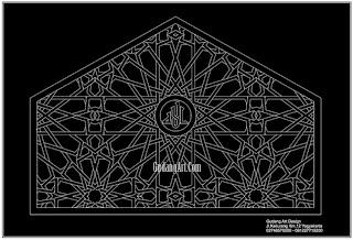 ornamen jendela masjid