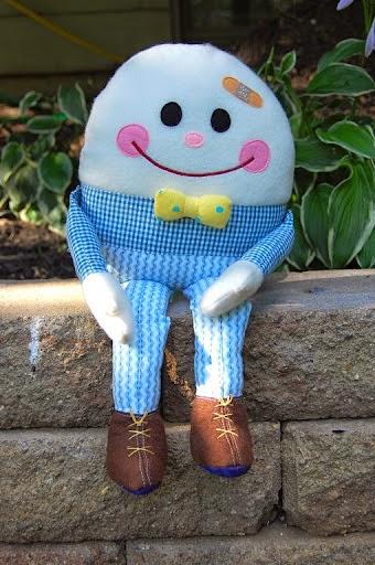 Moldes boneco senhor ovo