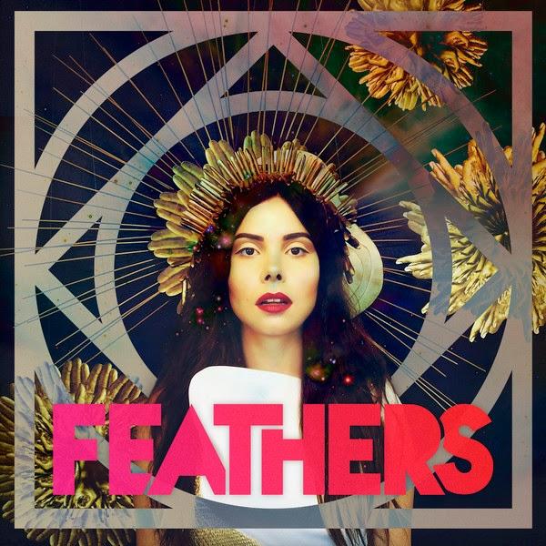 Feathers - Dark Matter - Album Single Cover
