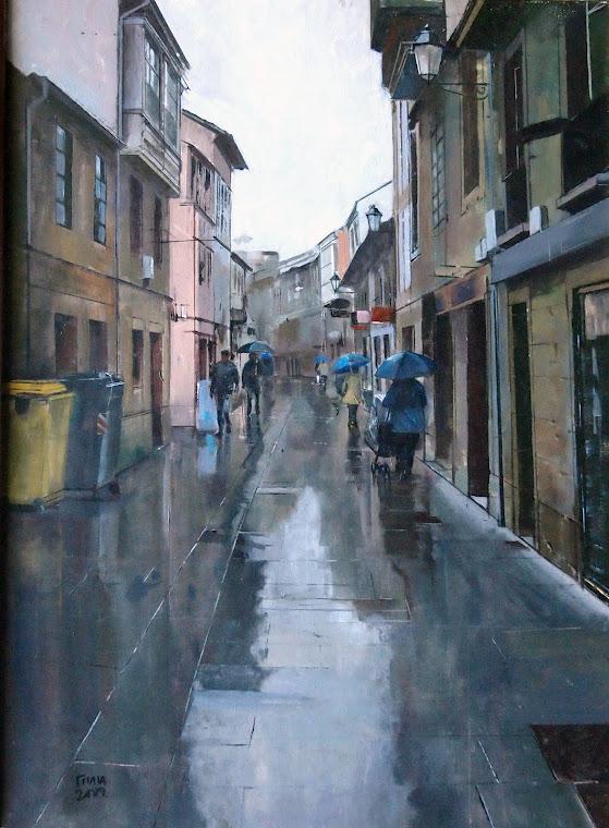 Chove en Lugo