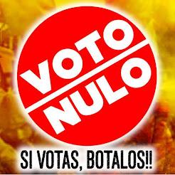 Campaña nacional Voto Nulo 2016 en Perú. (HAZ CLICK SOBRE LA IMAGEN y únete)