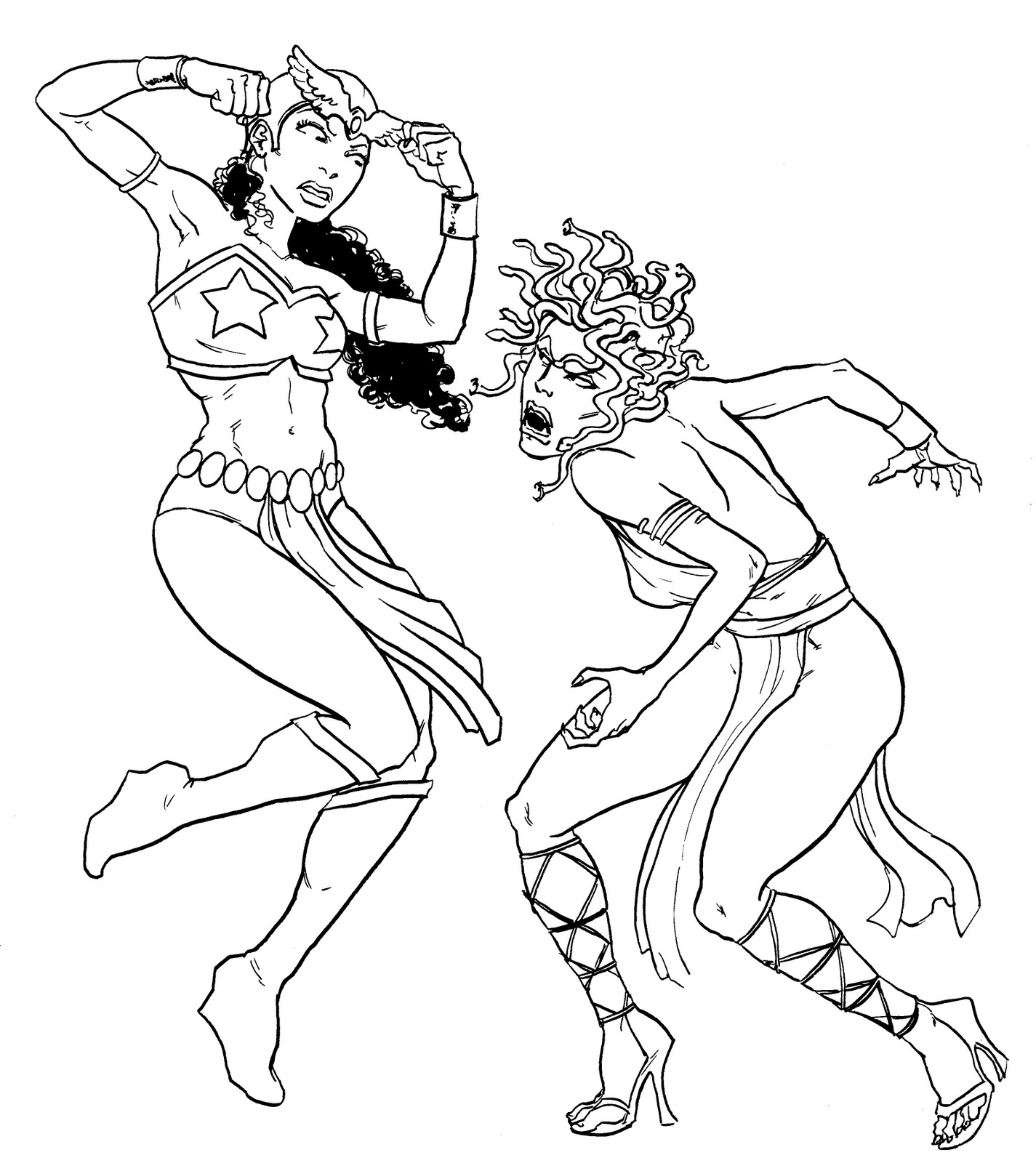 drawbridge darna and her arch enemy valentina