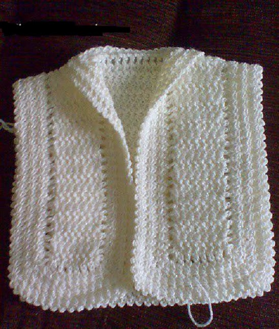 Crochet Jacket Pattern : Crochet Baby Jacket Knitting Patterns
