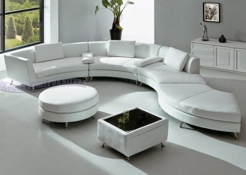 Round sofas for your unique interior