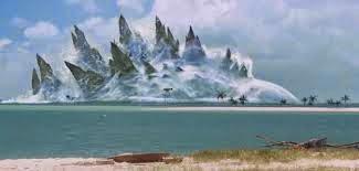 Gambar Godzilla di Air Film Terbaru 2014 Penampakan Punggung Godzilla