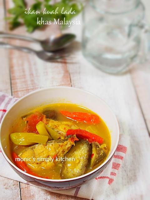 ikan kuah lada khas malaysia