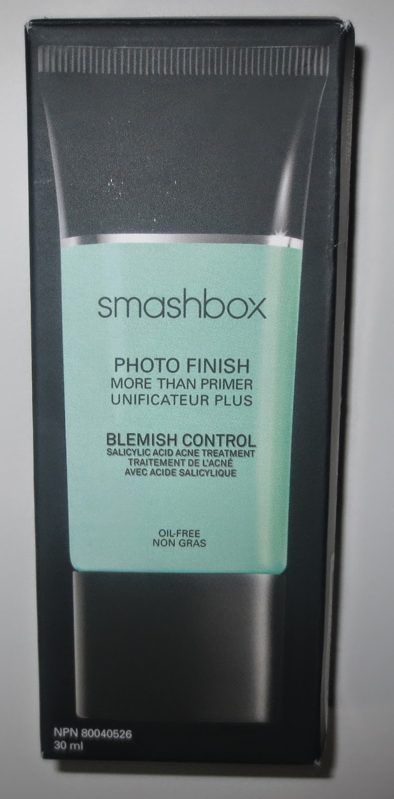 Smashbox Photo Finish More Than Primer Blemish Control Packaging