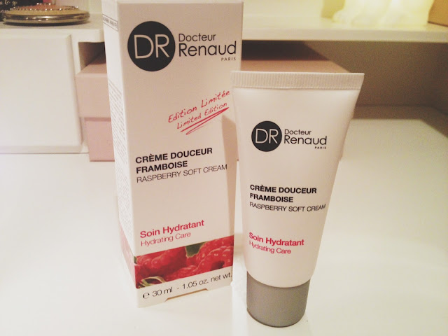 Docteur Renaud, cream, moisturiser, raspberry, hydrating cream, beauty, skincare