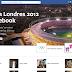 Facebook lanza página especial para los Juegos Olímpicos 2012