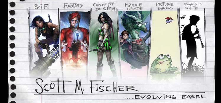 Scott M. Fischer Evolving Easel