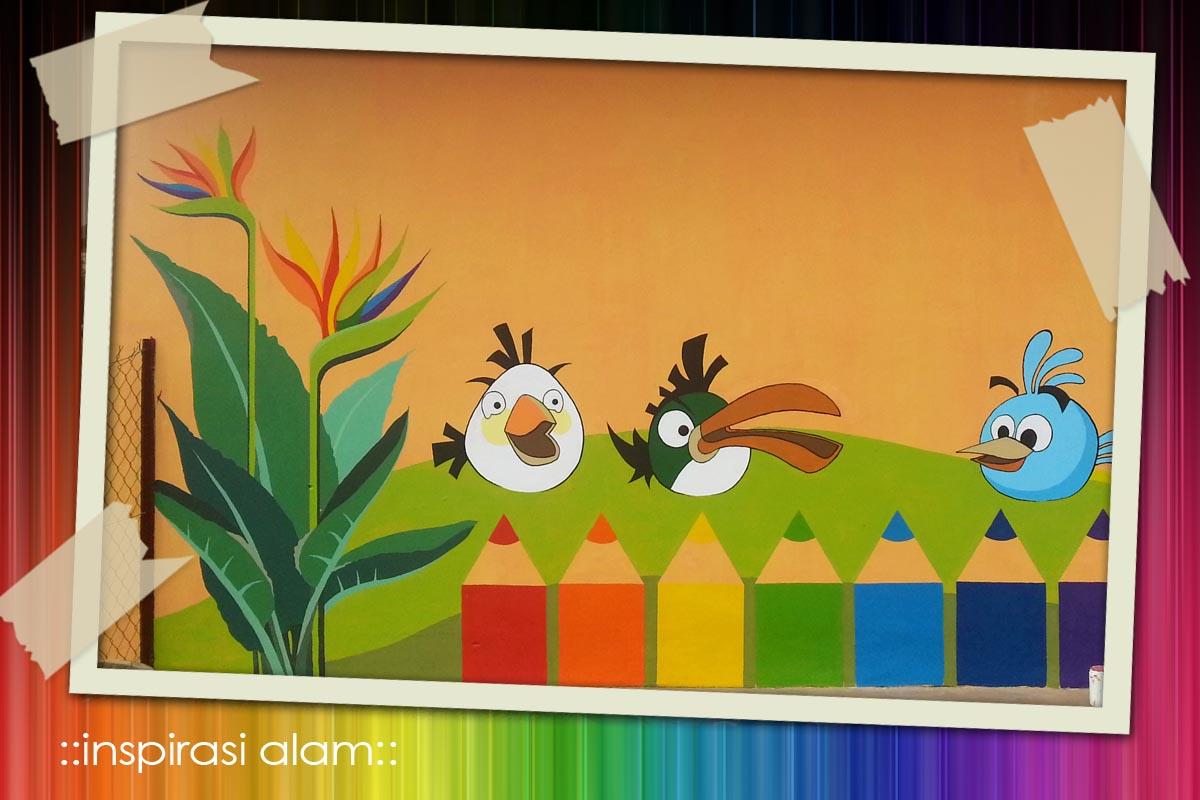 Inspirasi alam projek mural tabika perpaduan siri akhir for Contoh lukisan mural tadika